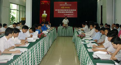 Đoàn Than Quảng Ninh sơ kết hoạt động 6 tháng đầu năm 2012
