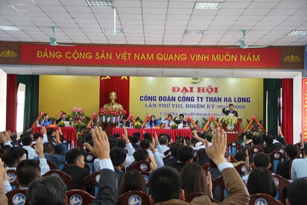 Đại hội Công đoàn Công ty than Hạ Long lần thứ VIII, nhiệm kỳ 2018 - 2023